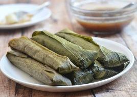 Suman Malagkit ( Sticky Rice Cake)