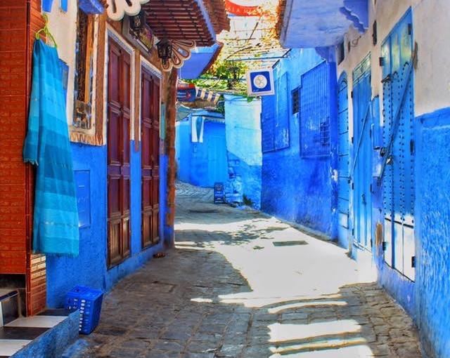 THE BLUE CITY OF CHEFCHAOUEN,MOROCCO