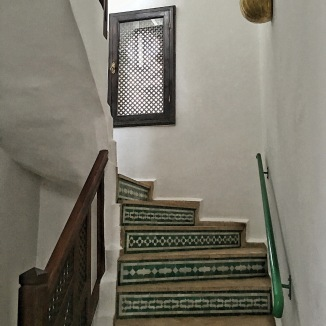 Steps going upstairs