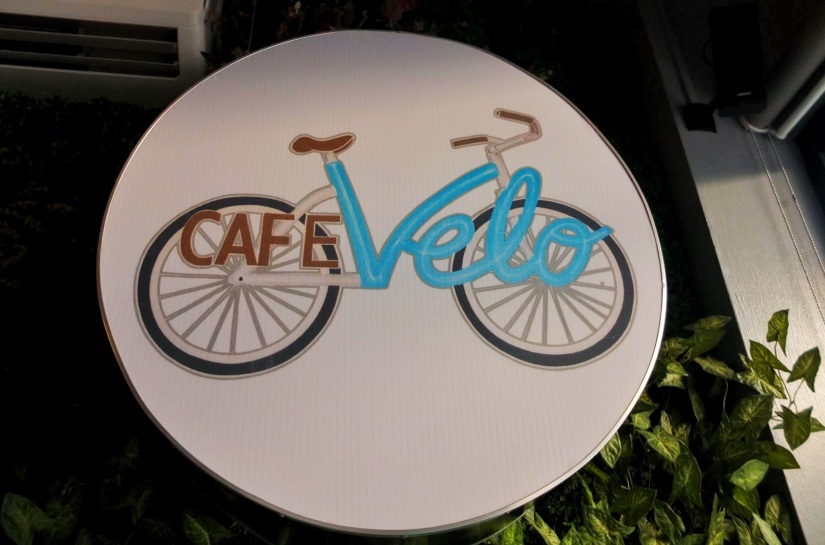 CAFE VELO -A CHARMING PLACE  FOR A CUPPA