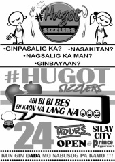 Photo Credit to Hugot Sizzlers