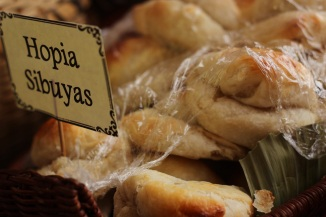 HOPIA is a sweet party with a flaky crust and filled with sweet mung bean or mongo bean.