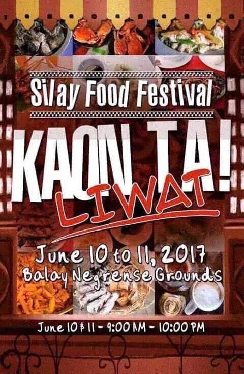 KAON TA LIWAT SILAY FOODFESTIVAL
