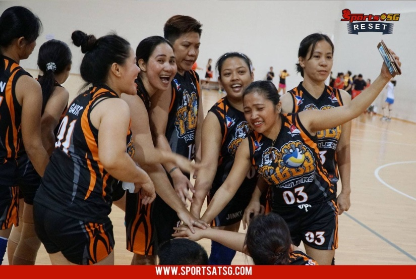 VOLLEYBALL – A SPORT THAT CHANGE THE LIFE OF OFWs IN SINGAPORE.