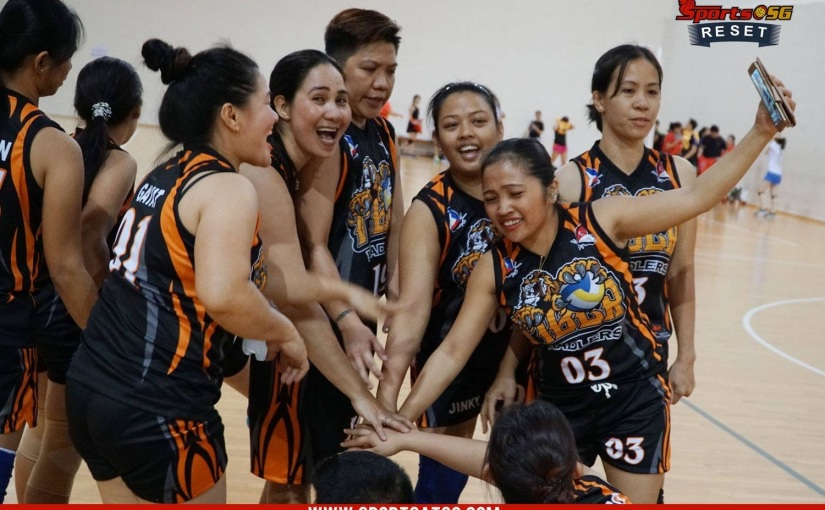 VOLLEYBALL – A SPORT THAT CHANGE THE LIFE OF OFWs INSINGAPORE.
