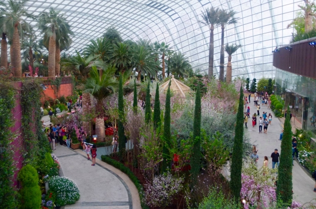 flower-dome PLACES TO INCLUDE IN YOUR SINGAPORE ITINERARY IN 2018 Travel