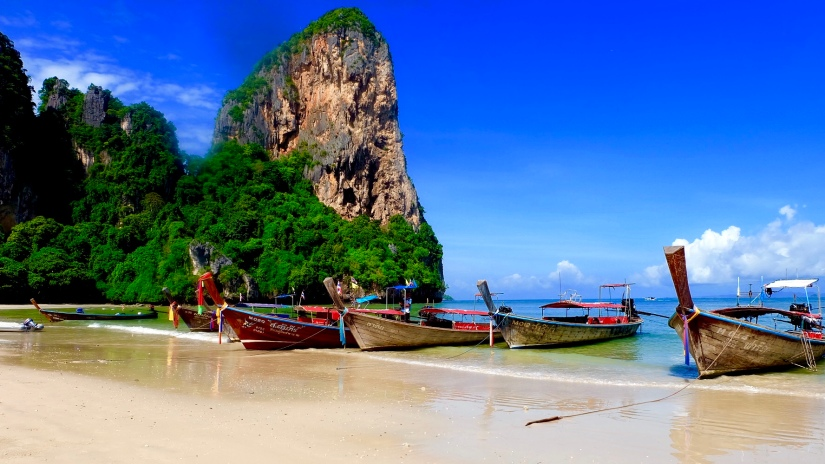 RAILAY BEACH, THAILAND – FIRST TIME VISITOR