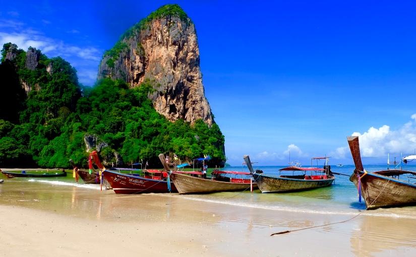 RAILAY BEACH, THAILAND – FIRST TIMEVISITOR